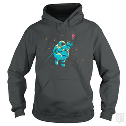 SunFrog-Busted BustedTees Hoodie / Dark Heather / S Fatstronaut