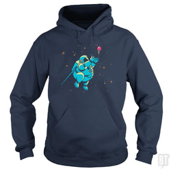SunFrog-Busted BustedTees Hoodie / Navy Blue / S Fatstronaut