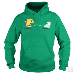 SunFrog-Busted BustedTees Hoodie / Irish Green / S Ghost Catcher