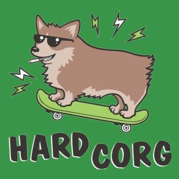 SunFrog-Busted BustedTees Hard Corg