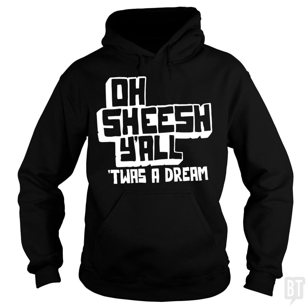 SunFrog-Busted BustedTees Hoodie / Black / S Jake and Amir: Oh Sheesh Y'all
