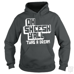 SunFrog-Busted BustedTees Hoodie / Dark Heather / S Jake and Amir: Oh Sheesh Y'all