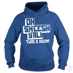 SunFrog-Busted BustedTees Hoodie / Royal Blue / S Jake and Amir: Oh Sheesh Y'all