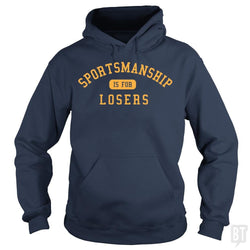 SunFrog-Busted BustedTees Hoodie / Navy Blue / S Sportsmanship