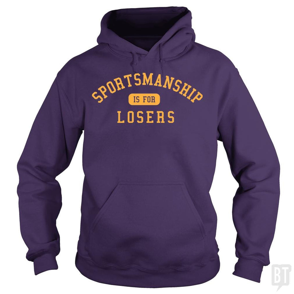 SunFrog-Busted BustedTees Hoodie / Purple / S Sportsmanship