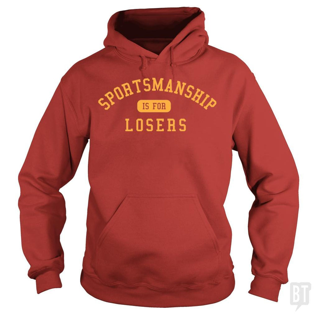 SunFrog-Busted BustedTees Hoodie / Red / S Sportsmanship