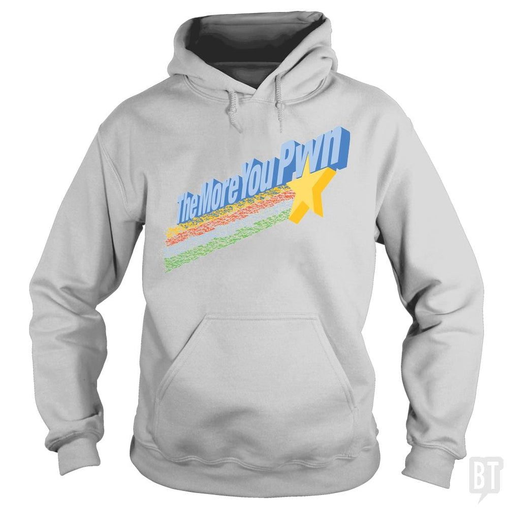 SunFrog-Busted BustedTees Hoodie / Sport Grey / S The More You Pwn