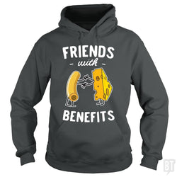 SunFrog-Busted Contour Hoodie / Dark Heather / S Mac & Cheese Friends with benefits