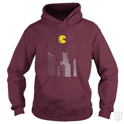 SunFrog-Busted Daletheskater Hoodie / Maroon / S Pac-World