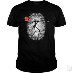SunFrog-Busted Daletheskater Classic Guys / Unisex Tee / Black / S Throwing Pumpkins