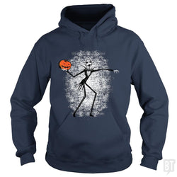 SunFrog-Busted Daletheskater Hoodie / Navy Blue / S Throwing Pumpkins