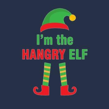 SunFrog-Busted designsbymallika hangry elf