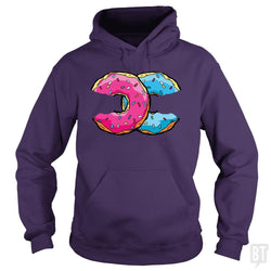 SunFrog-Busted Doom Generation Hoodie / Purple / S DONUT CC