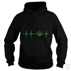 SunFrog-Busted Edible Loving Weedologist Hoodie / Black / S My heartbeats for Mary Jane