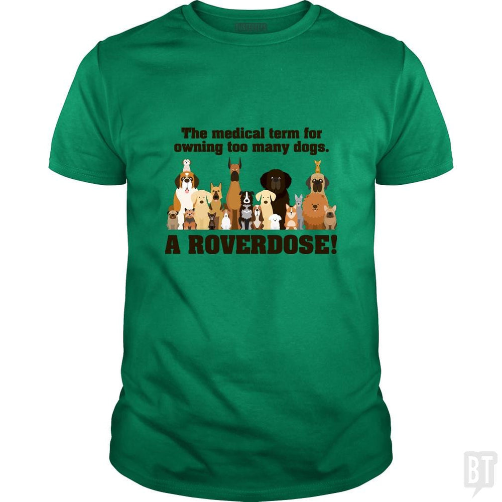 SunFrog-Busted Franceseugenia Classic Guys / Unisex Tee / Irish Green / S Roverdose.