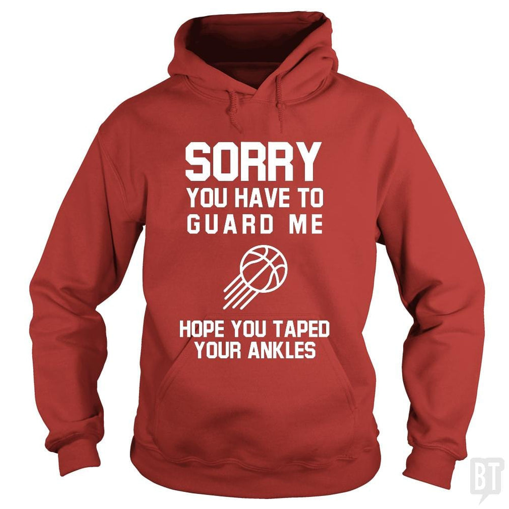SunFrog-Busted Franceseugenia Hoodie / Red / S Sorry you have to guard me