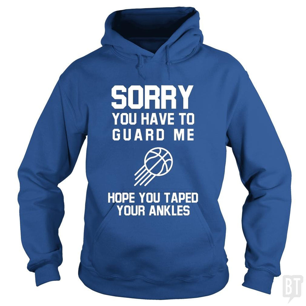 SunFrog-Busted Franceseugenia Hoodie / Royal Blue / S Sorry you have to guard me