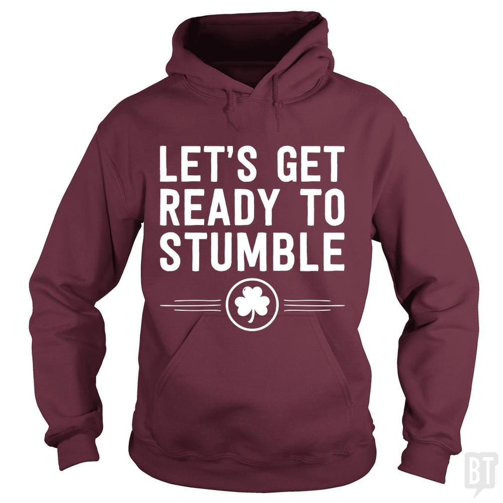 SunFrog-Busted Funky Hippo Hoodie / Maroon / S Get Ready To Stumble
