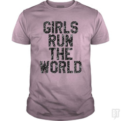 SunFrog-Busted Funky Hippo Classic Guys / Unisex Tee / Light Pink / S Girls Run The World