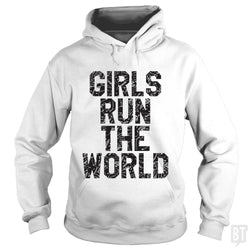 SunFrog-Busted Funky Hippo Hoodie / White / S Girls Run The World