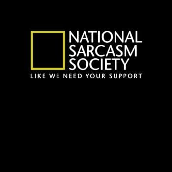 SunFrog-Busted Funky Hippo National Sarcasm Society