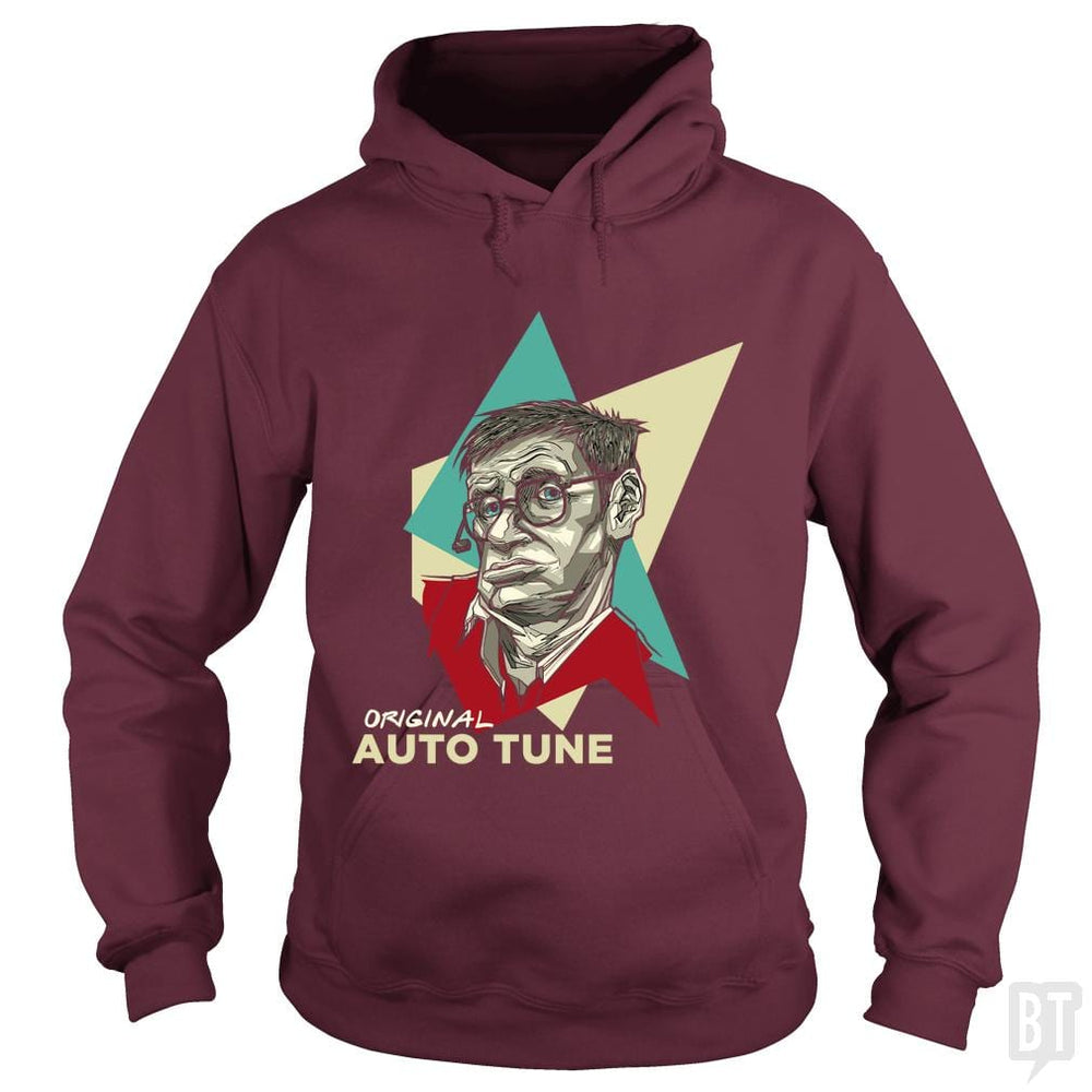 SunFrog-Busted Funky Hippo Hoodie / Maroon / S Original Auto Tune