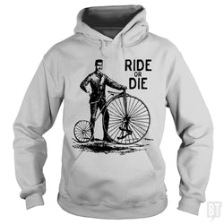 SunFrog-Busted Funky Hippo Hoodie / Sport Grey / S Ride Or Die