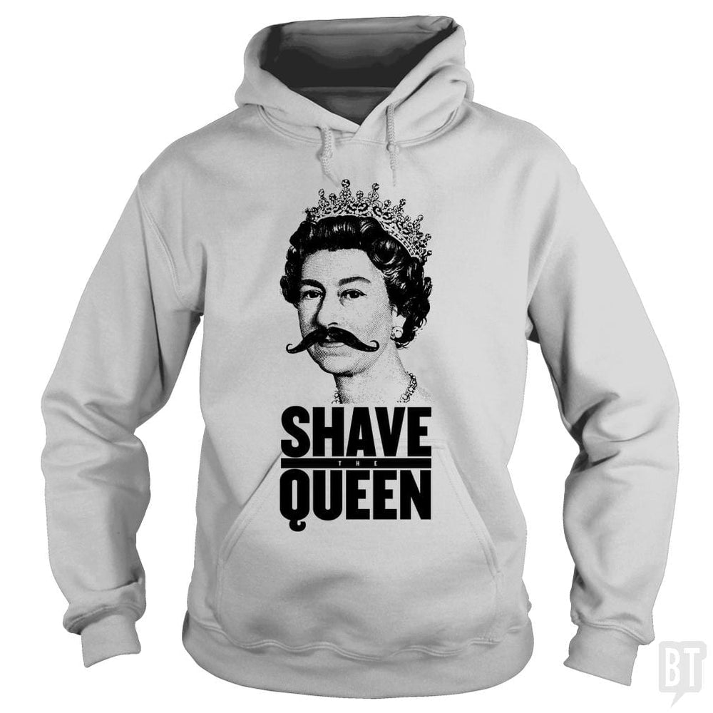 SunFrog-Busted Funky Hippo Hoodie / Sport Grey / S Shave The Queen