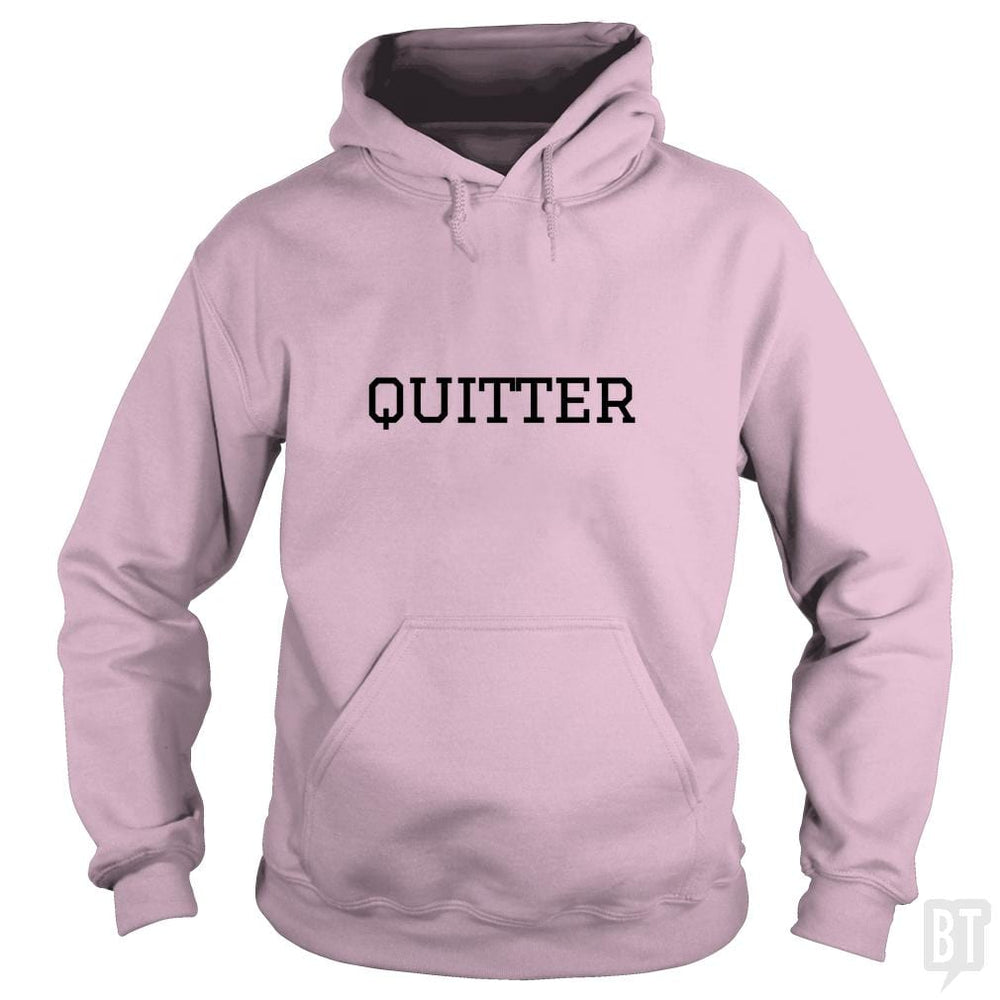 SunFrog-Busted GRIFFfam621 Hoodie / Light Pink / S Quitter