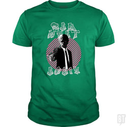SunFrog-Busted GRIFFfam621 Classic Guys / Unisex Tee / Irish Green / S Sat What Again
