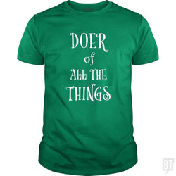 SunFrog-Busted Heflin Design Classic Guys / Unisex Tee / Irish Green / S Doer of Things