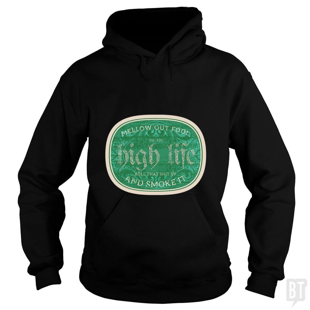 SunFrog-Busted Heflin Design Hoodie / Black / S High Life