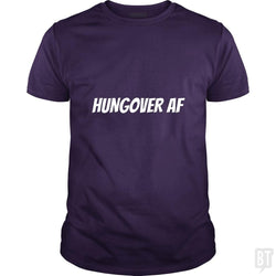 SunFrog-Busted Heflin Design Classic Guys / Unisex Tee / Purple / S HungoverAF