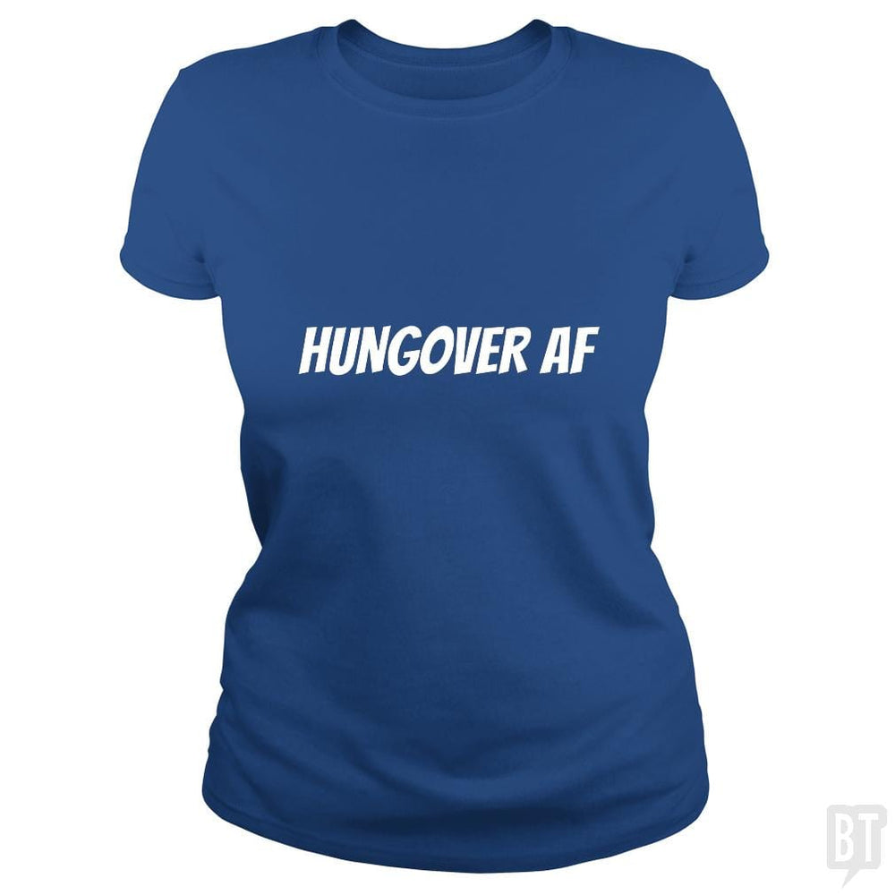 SunFrog-Busted Heflin Design Classic Ladies Tee / Royal Blue / S HungoverAF