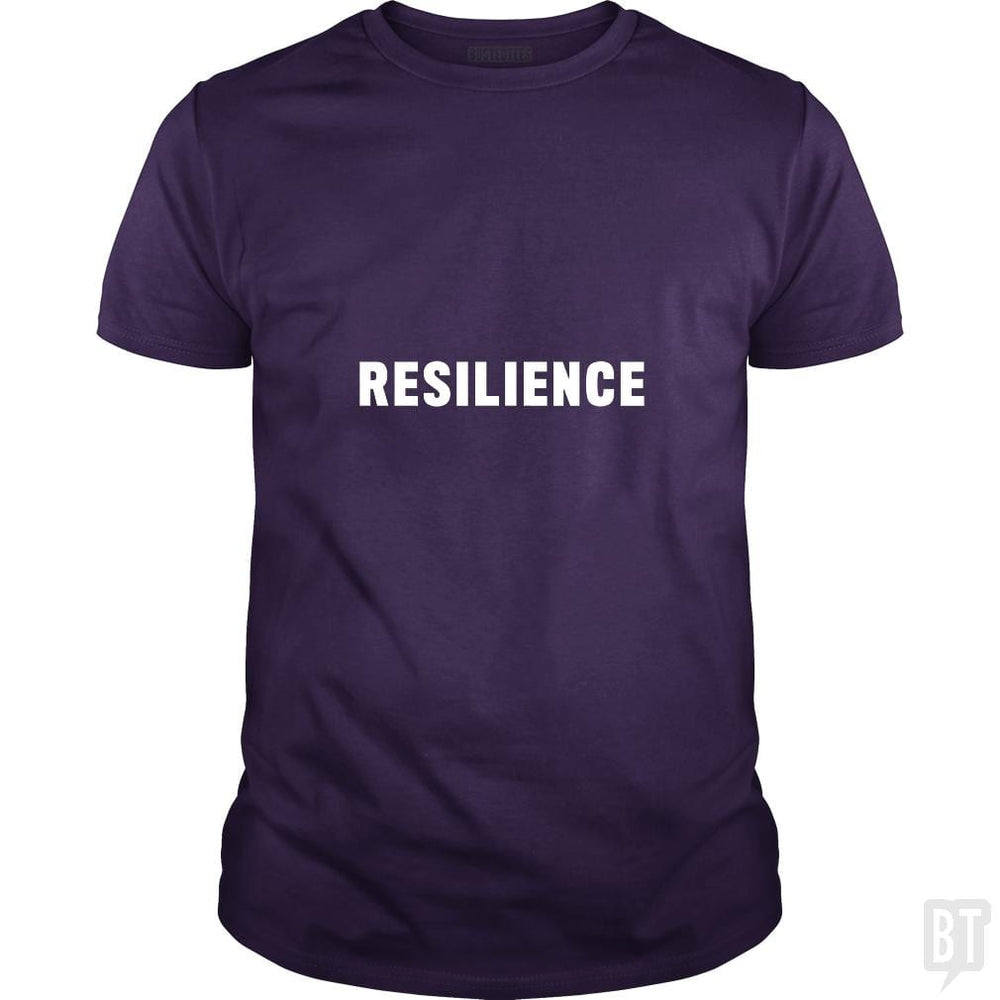 SunFrog-Busted Heflin Design Classic Guys / Unisex Tee / Purple / S Resilience