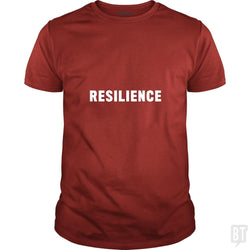 SunFrog-Busted Heflin Design Classic Guys / Unisex Tee / Red / S Resilience