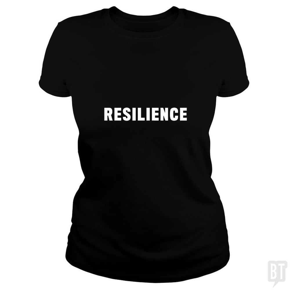 SunFrog-Busted Heflin Design Classic Ladies Tee / Black / S Resilience