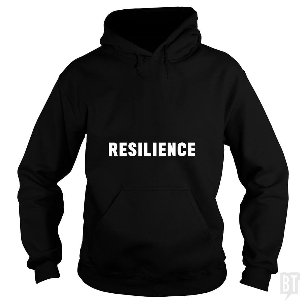 SunFrog-Busted Heflin Design Hoodie / Black / S Resilience