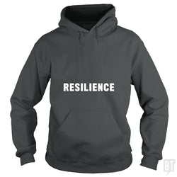 SunFrog-Busted Heflin Design Hoodie / Dark Heather / S Resilience