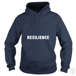 SunFrog-Busted Heflin Design Hoodie / Navy Blue / S Resilience