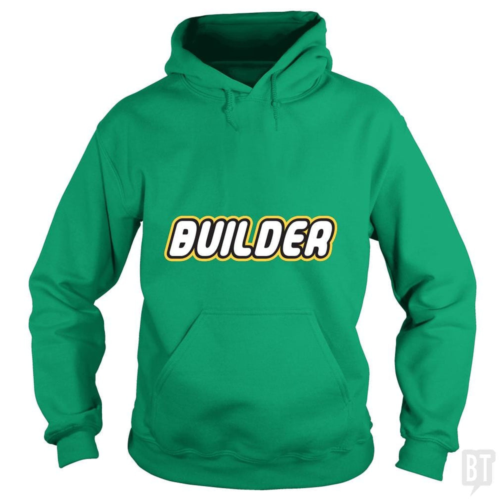 SunFrog-Busted Joefixit2 Hoodie / Irish Green / S Builder