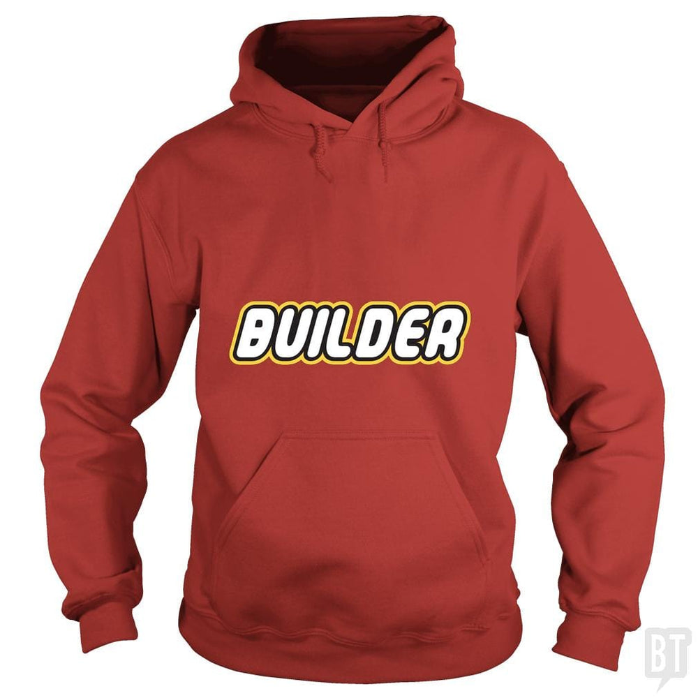 SunFrog-Busted Joefixit2 Hoodie / Red / S Builder