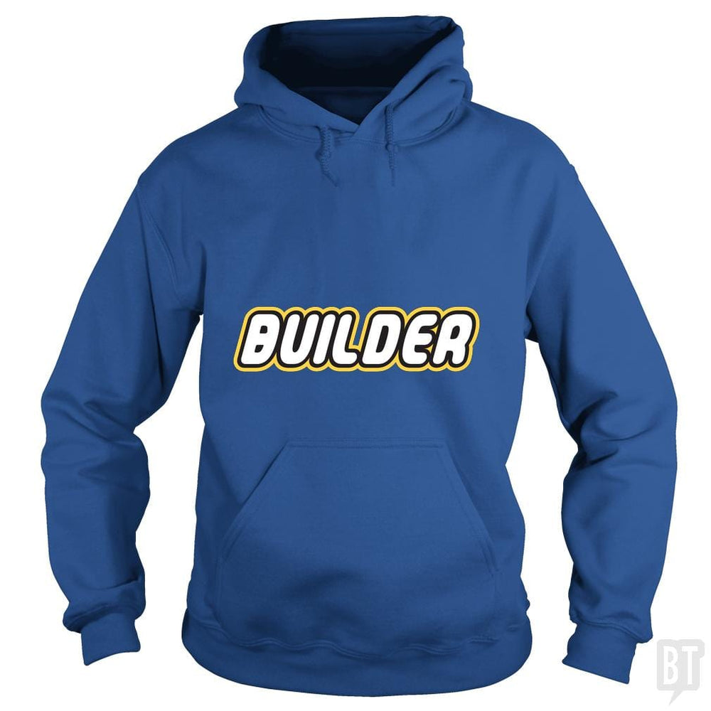 SunFrog-Busted Joefixit2 Hoodie / Royal Blue / S Builder