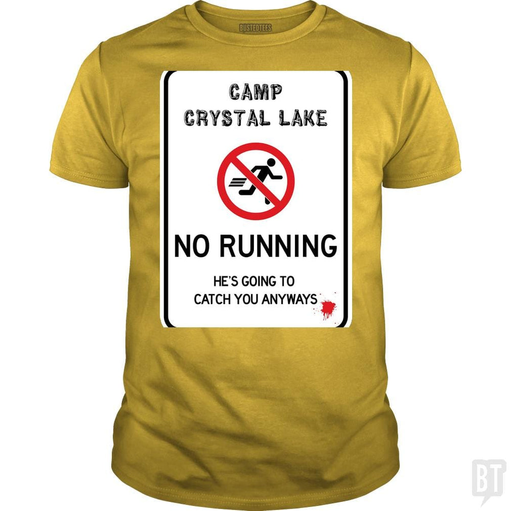 SunFrog-Busted Joefixit2 Classic Guys / Unisex Tee / Daisy / S Camp Crystal Lake No Running