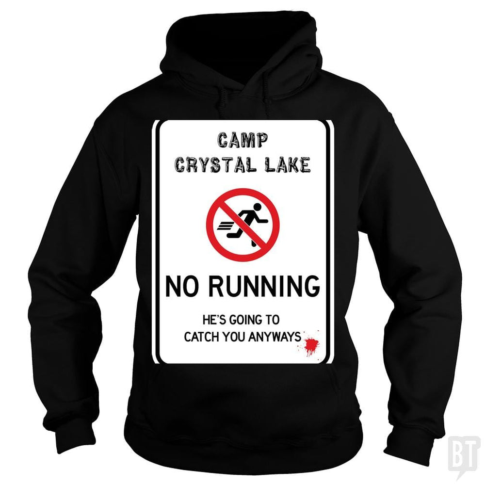 SunFrog-Busted Joefixit2 Hoodie / Black / S Camp Crystal Lake No Running