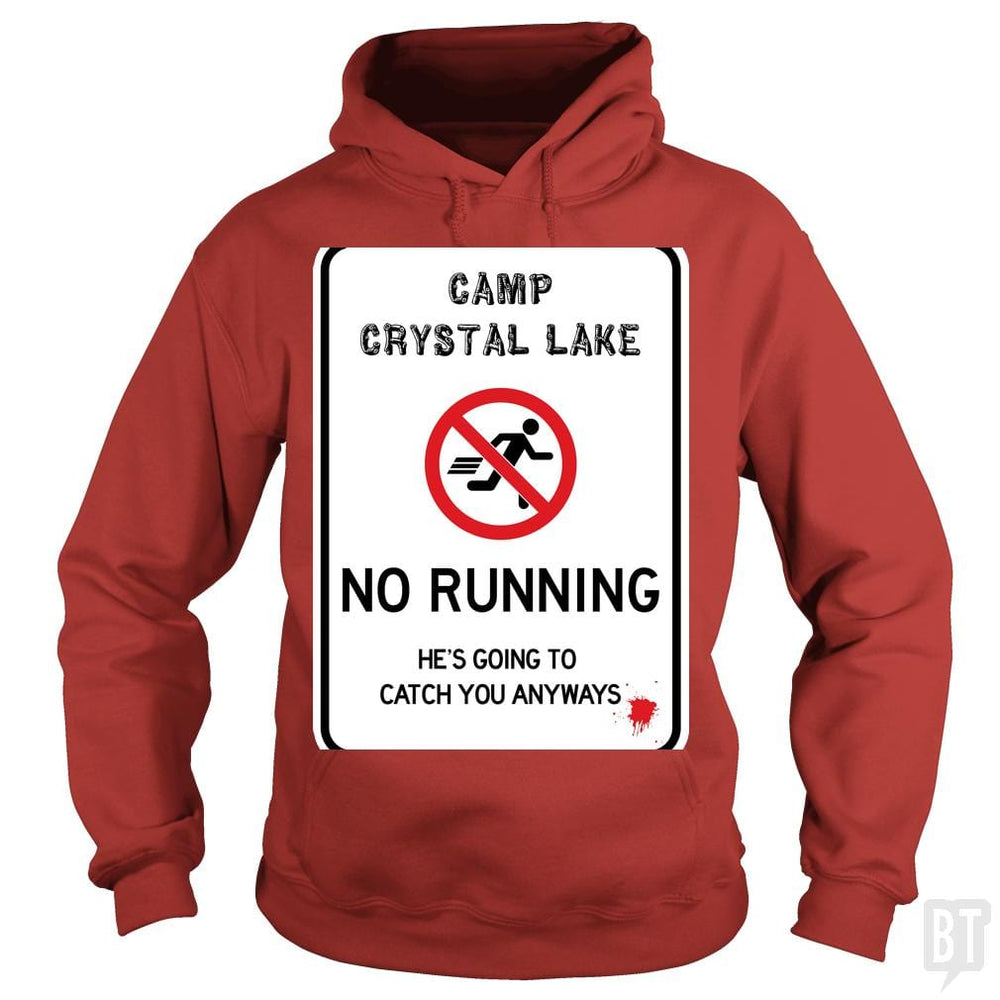 SunFrog-Busted Joefixit2 Hoodie / Red / S Camp Crystal Lake No Running