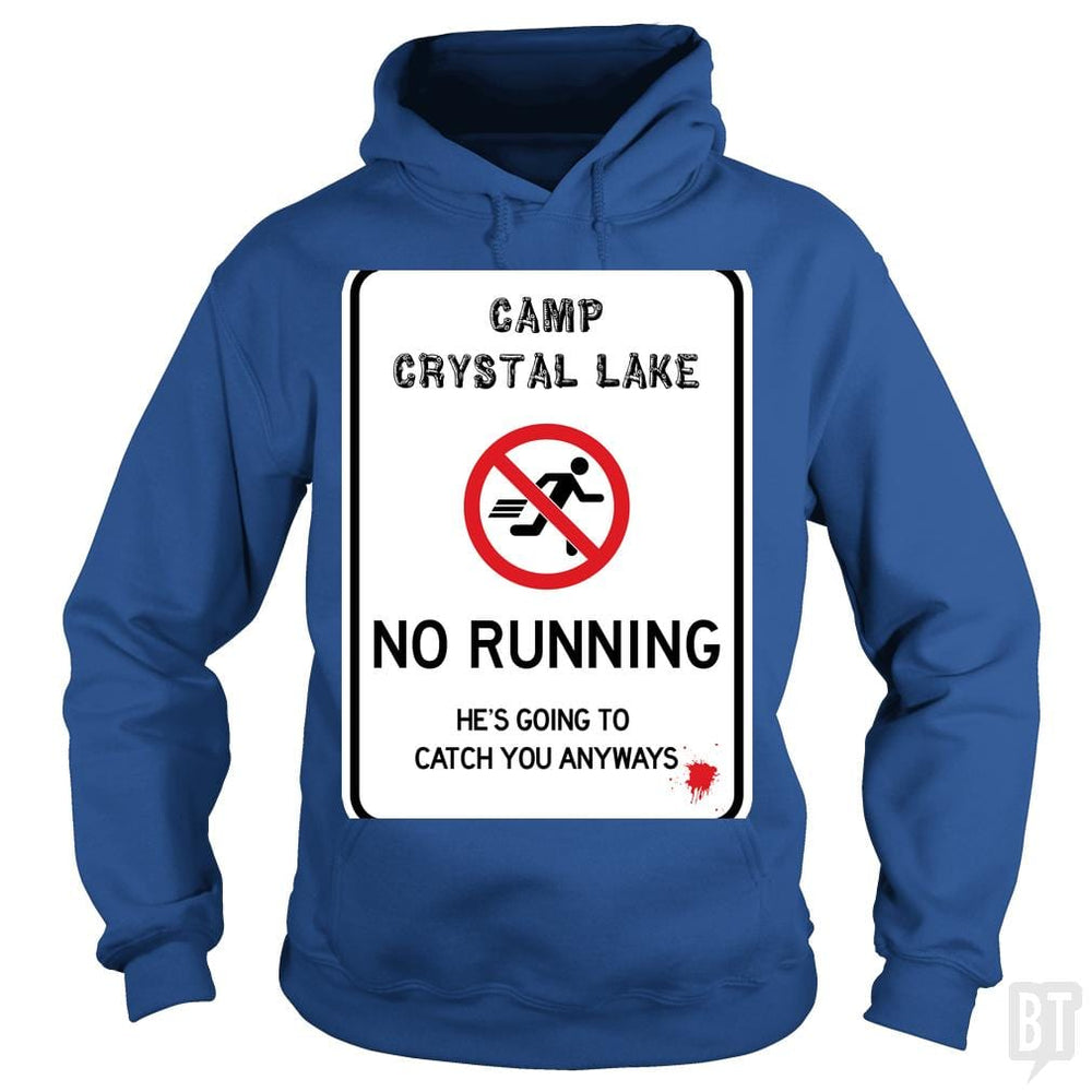 SunFrog-Busted Joefixit2 Hoodie / Royal Blue / S Camp Crystal Lake No Running