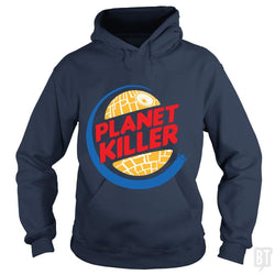 SunFrog-Busted Joefixit2 Hoodie / Navy Blue / S Planet Killer
