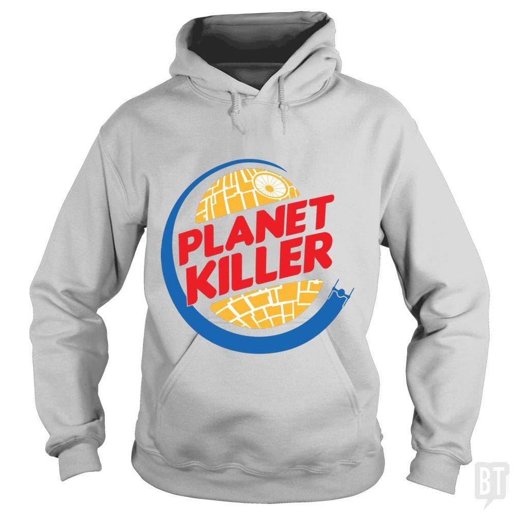 SunFrog-Busted Joefixit2 Hoodie / Sport Grey / S Planet Killer