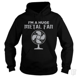 SunFrog-Busted KrawangArt Hoodie / Black / S I'm A Huge Metal Fan